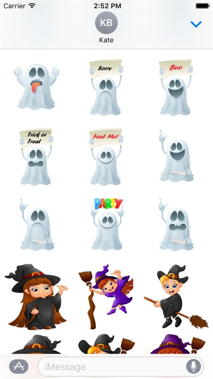 Halloween Stickers 2 screenshot-4