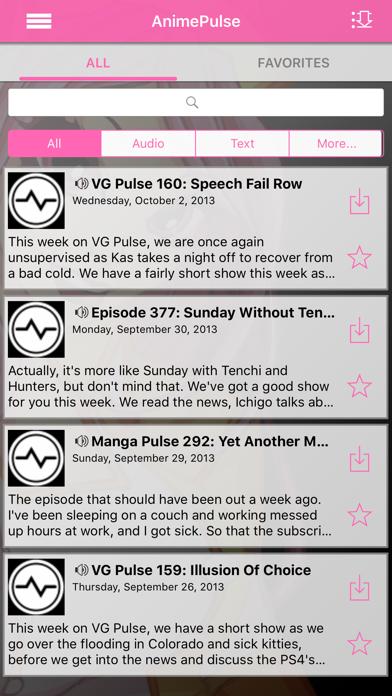 Anime Pulse review screenshots