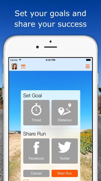RunSocial - Treadmill running made social and fun screenshot-3