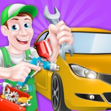 Activities of Car Wash Salon cleaning and washing simulator