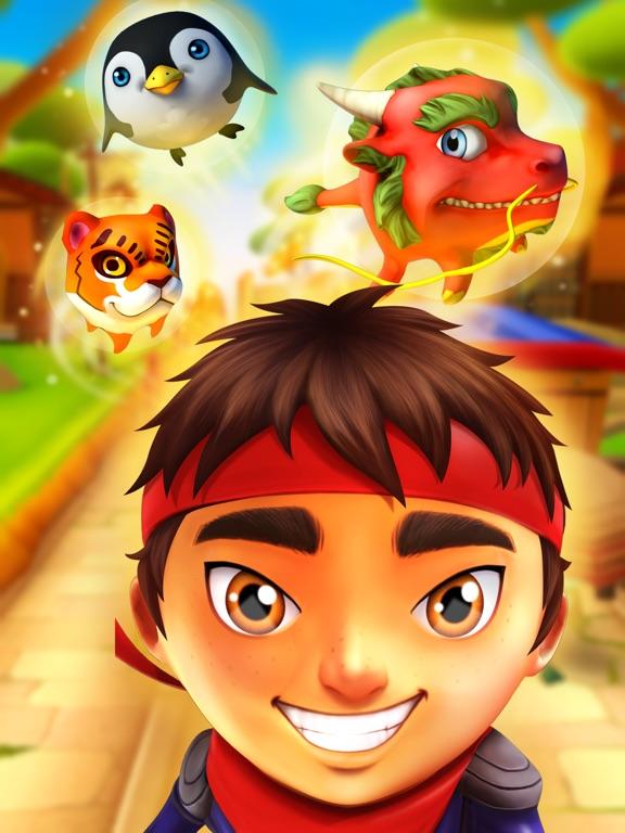Скачать игру Hиндзя Pебенок бесплатно - игры гонки для детей