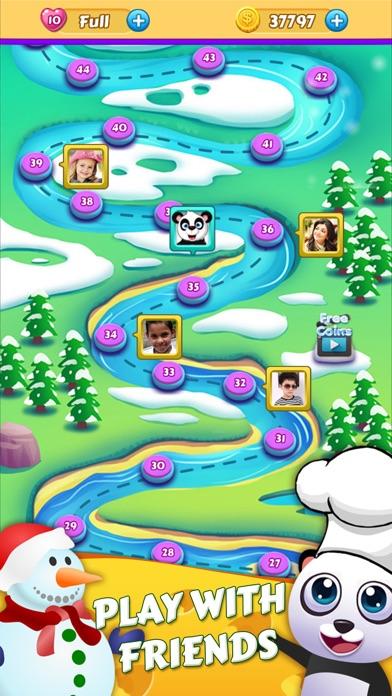 Panda Kitchen Story - Cookie Smash Match 3 1.0.8  IOS