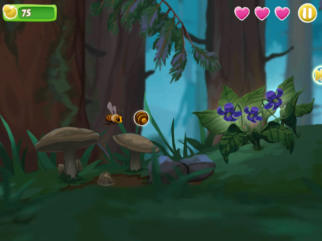 Bee Odyssey, game for IOS