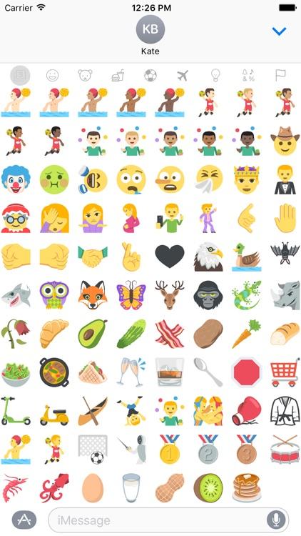 New Emoji for iMessage