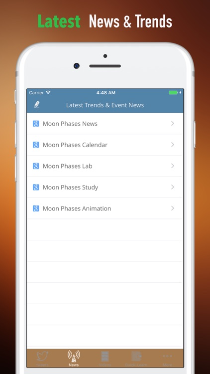 Moon Phases Study Guide-Tutorial and Hot News screenshot-4
