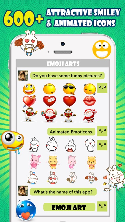 Emoji Keyboard -Gif Color Text Font for Messenger screenshot-3