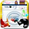 子供たち 服 洗濯 ゲーム クレイジー 赤ちゃん 手 マシン 布 ウォッシュ & ドレスアップ 少女 少し 温泉 楽しい