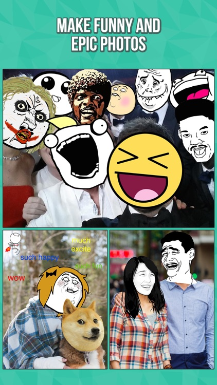 InstaRage - Photo Editor & Meme Rage Face Stickers