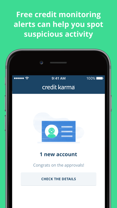 Screenshots of Credit Karma: Free Credit Scores, Reports & Alerts for iPhone