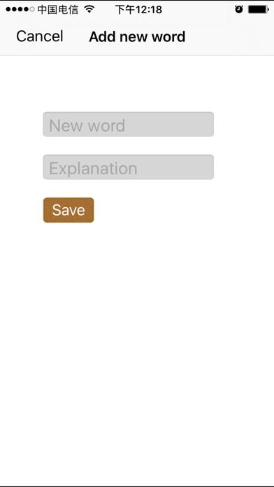 Words Notes Screenshots