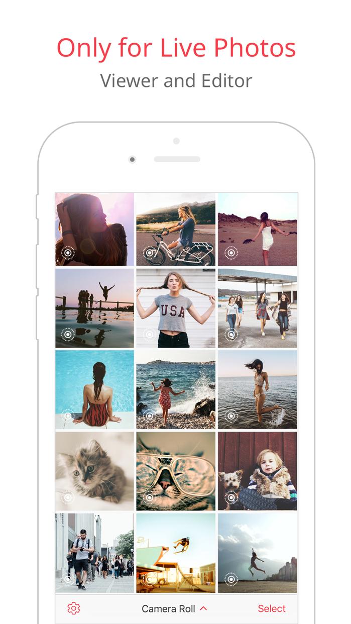 LivePix – Convert Live Photos to gif & video Screenshot