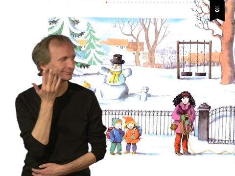 Karsten og Petra kjører brannbil - på tegnspråk iPad