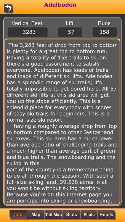 Swizerland Ski Resorts screenshot-3