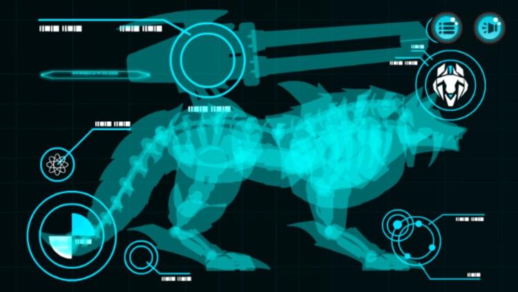 机甲狼*恐龙游戏免费:儿童游戏免费 screenshot-3