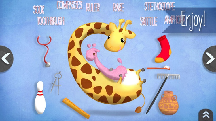 Camelia the giraffe Book! screenshot-4