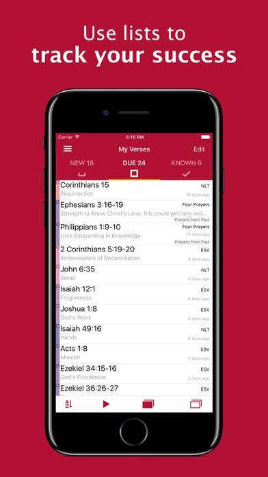 Screenshot for Bible Memory: Remember Me in United States App Store