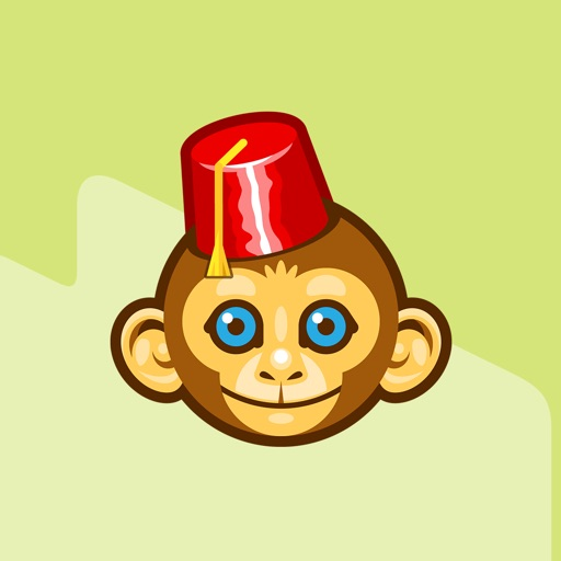 Iconfactory Chimp Andy Stickers