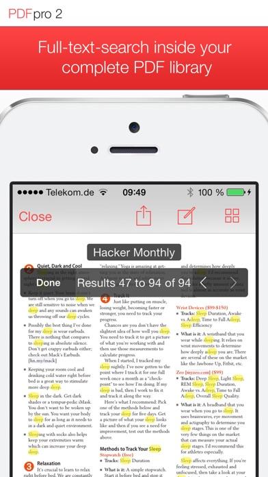 PDF Pro 2 – Die ultimative PDF AppScreenshot von 3