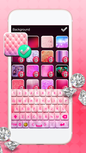 Pink Keyboard Themes Pimp My Keyboards For Iphone On The App Store