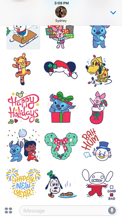 Disney Stickers: Holiday Cheer screenshot-4