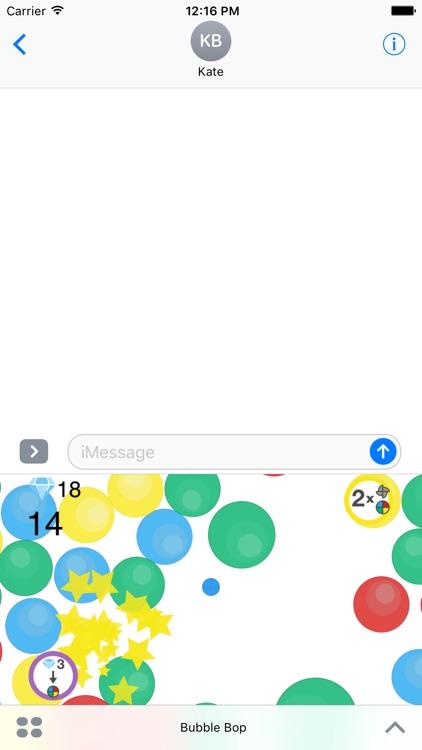 Bubble Bop - Arcade Game for iMessage screenshot-4