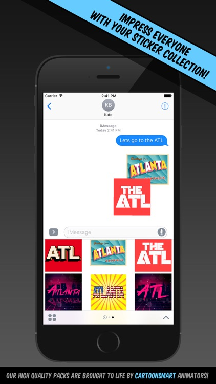 Atlanta Stickers screenshot-2