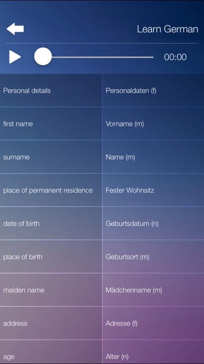 Learn GERMAN Learn Speak GERMAN Language Fast&Easy screenshot-4