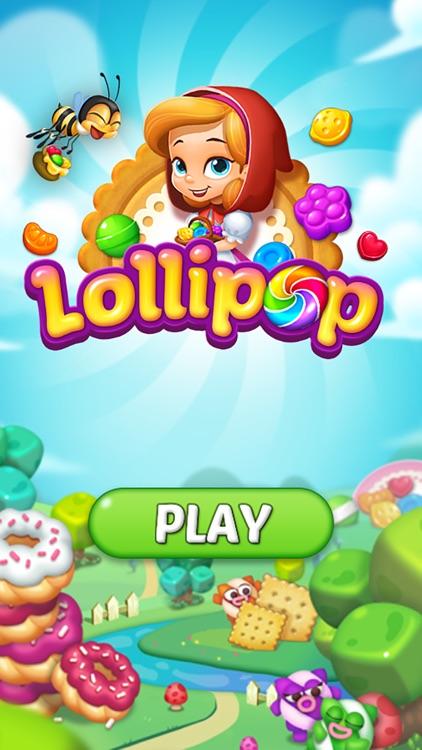 Lollipop: Sweet Taste Match3 screenshot-4