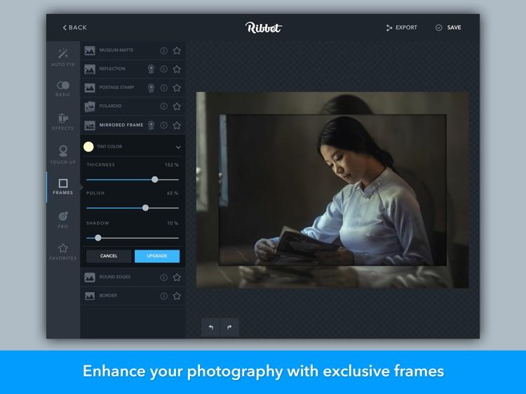 Ribbet - Photo Editor, Collage Maker, Text Editor screenshot-3