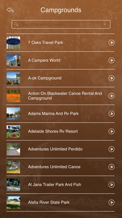 Florida Camping & RV Parks screenshot-2