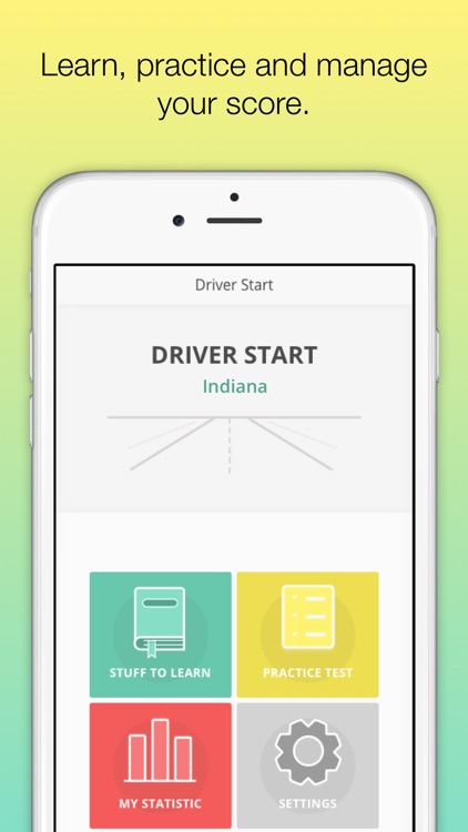 Indiana BMV IN Driver License knowledge test