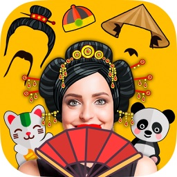 Snap filters China - Chinese face photo editor