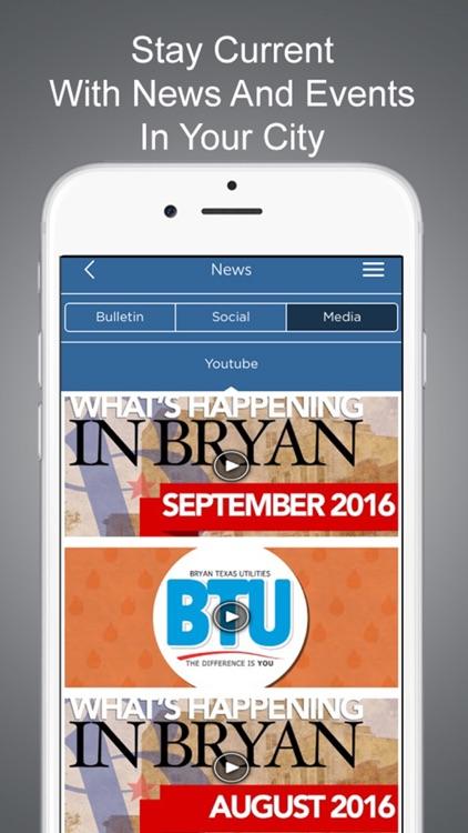 City of Bryan, Texas screenshot-3