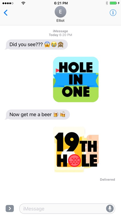 Golfmoji - Golf Emojis and Stickers screenshot-4