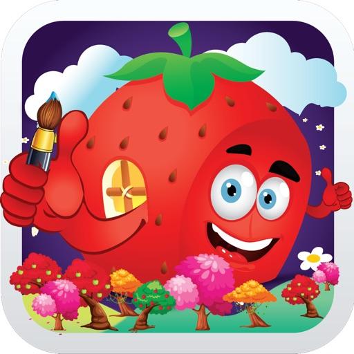Fruits Farm Coloring