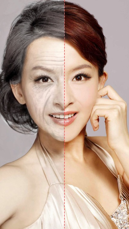 Old Face Video-Aging Swap Fx Live Gif Movie Maker screenshot-3