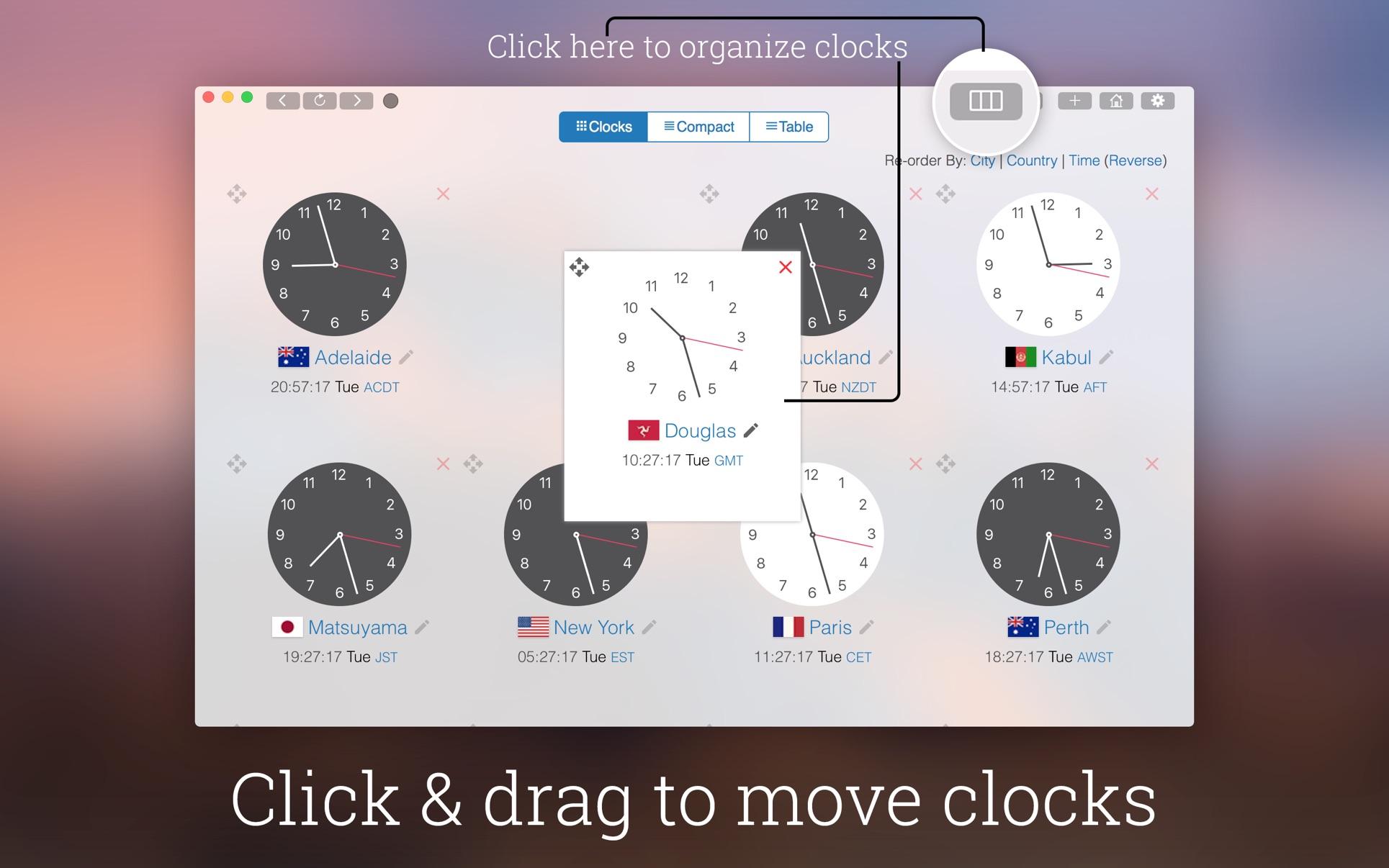 My World Clock on the Mac App Store