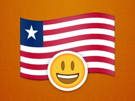 Liberian County Flag Stickers