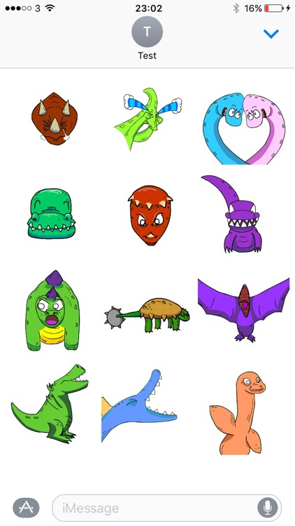 Dinosaurs Have Feelings Animated Sticker Pack