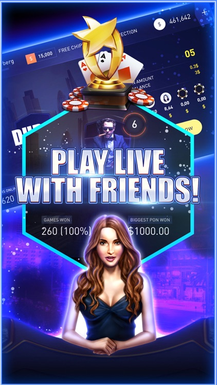 Poker Party - Texas Holdem Game screenshot-3