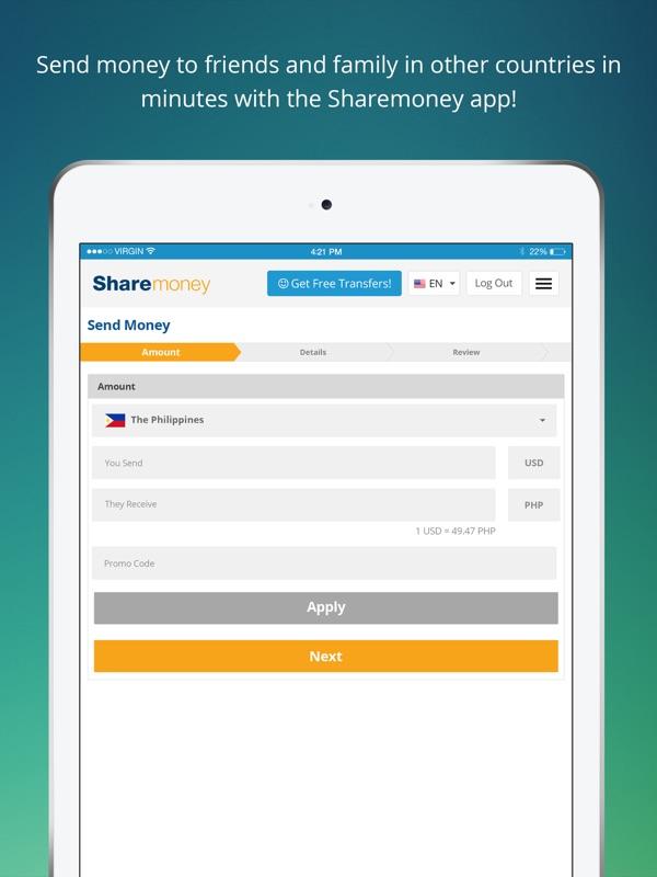 Sharemoney Money Transfers Online
