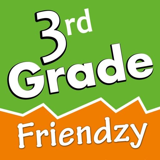 3rd Grade Friendzy - Reading, Math, Science iOS App