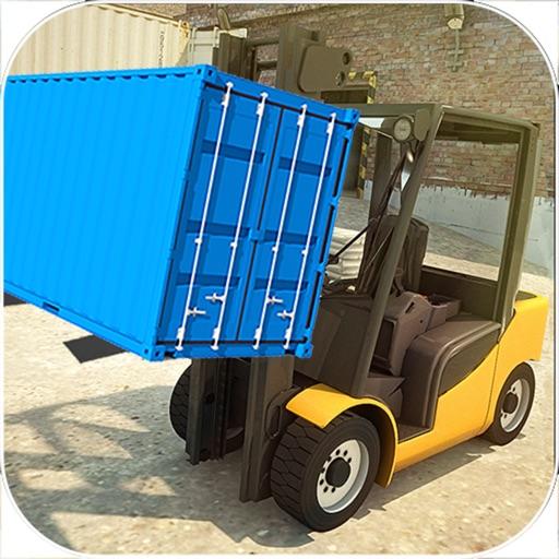 Gawadar CPEC Fork-Lifter : Cargo Contain-er Crane