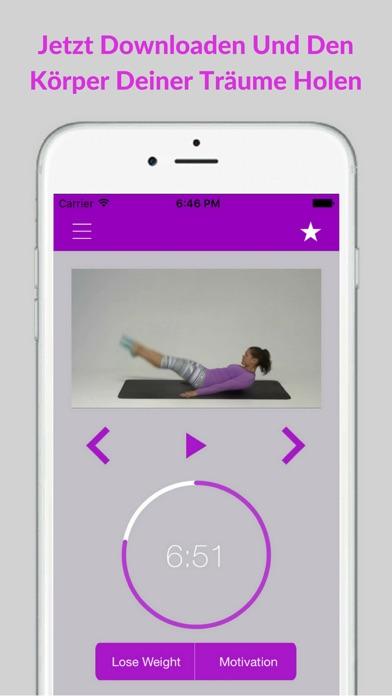 Pilates Einsteiger Übungen Training AusbildungScreenshot von 5