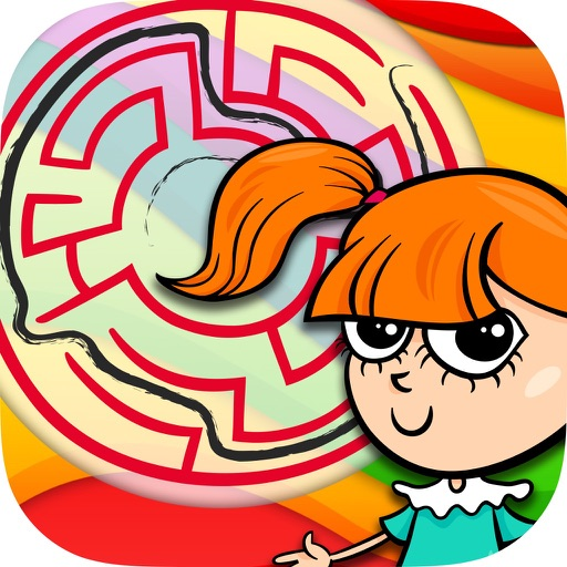 Mazes for girls – escape game to find the exit