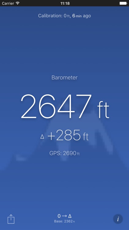 Altimeter (Barometer) screenshot-0