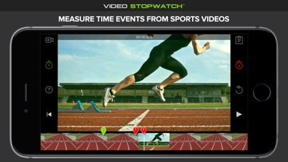 Screenshot #3 for Video Stopwatch - Time Analysis for Sports and Physics