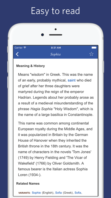 Name Origin Dictionary - etymology of names | App Price Drops