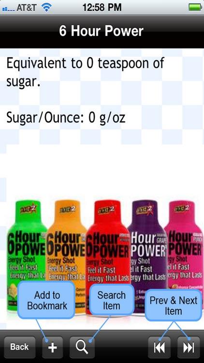 Sugar Levels in Drinks screenshot-4