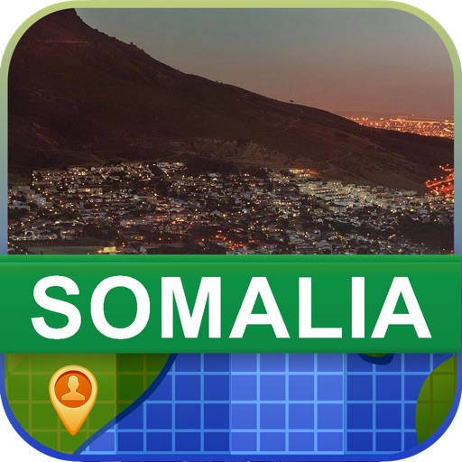 Offline Somalia Map - World Offline Maps